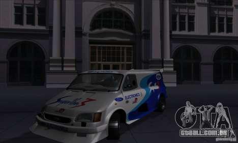 Ford Transit Supervan 3 2004 para GTA San Andreas