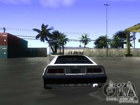 Lotus Esprit Turbo para GTA San Andreas vista interior