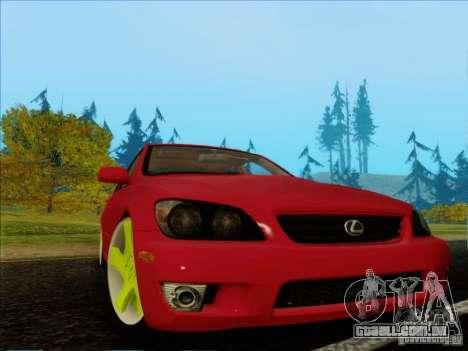 Lexus IS300 Edit para GTA San Andreas