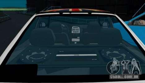 VAZ-2112 Coupe para GTA San Andreas vista direita