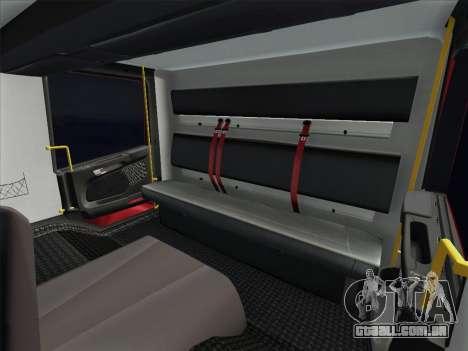Scania 94D-260 Corpo Bombeiros SP para GTA San Andreas