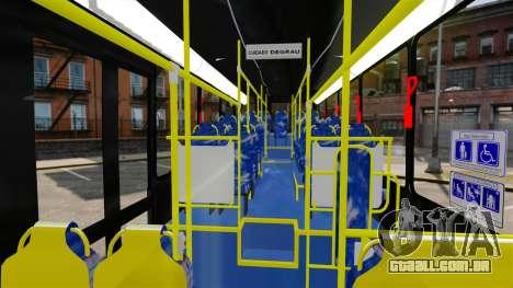 Busscar Urbanuss Pluss 2009 Le VIP Itaim Paulist para GTA 4 vista de volta