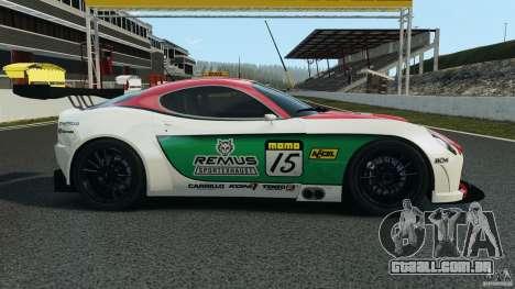 Alfa Romeo 8C Competizione Body Kit 1 para GTA 4 esquerda vista
