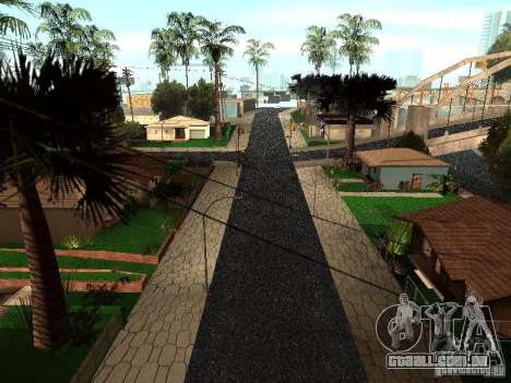A nova Grove Street para GTA San Andreas segunda tela
