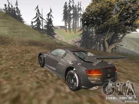 Audi R8 LMS v3.0 para GTA San Andreas vista interior