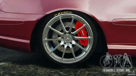 Mercedes-Benz CLK 63 AMG para GTA 4 vista superior