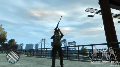 O PKK para GTA 4 terceira tela