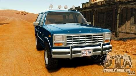 Ford Bronco 1980 para GTA 4