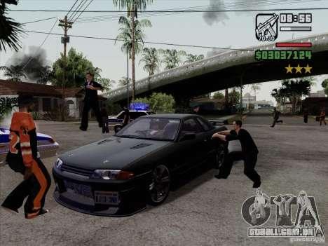 Close Doors for Cars para GTA San Andreas terceira tela