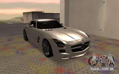 Mercedes-Benz SLS AMG 2010 para GTA San Andreas vista direita