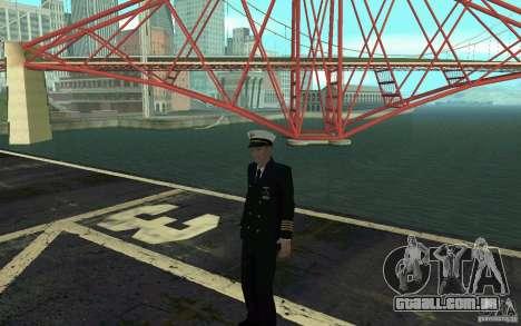 Admiral HD para GTA San Andreas quinto tela