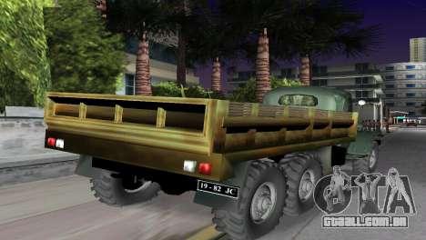 ZIL-157 para GTA Vice City deixou vista