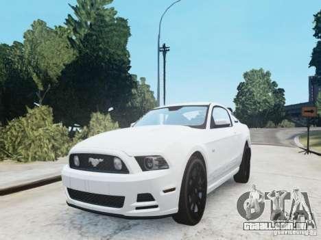 Ford Mustang GT 2013 para GTA 4 vista direita