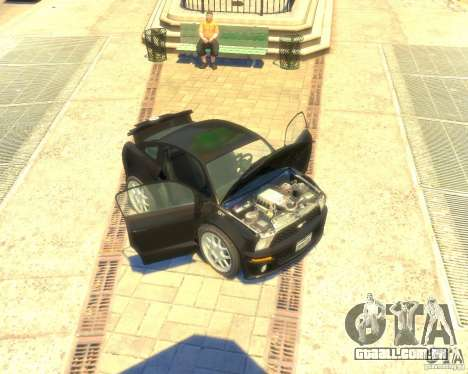 Ford Mustang Mini GT Beta para GTA 4 esquerda vista