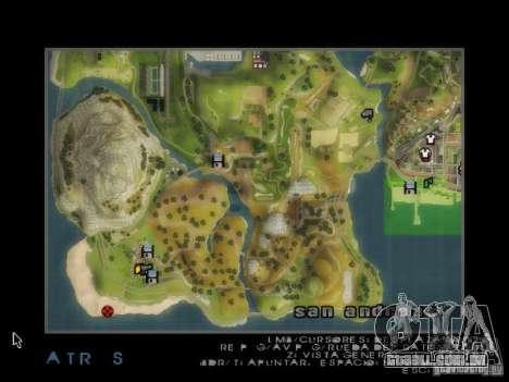 Praia večirinka para GTA San Andreas por diante tela