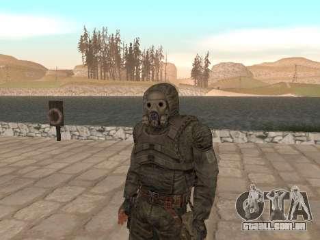 Um maço grande de stalkers grátis para GTA San Andreas quinto tela