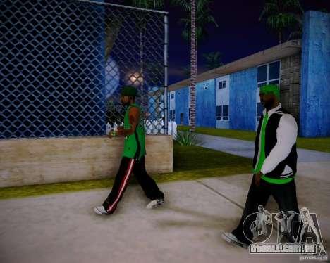 Skins pack gang Grove para GTA San Andreas sétima tela