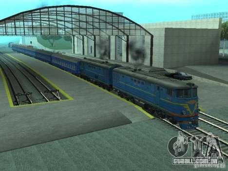 Te7-080 para GTA San Andreas esquerda vista