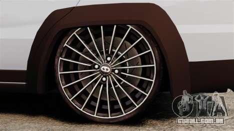 Fiat Palio Adventure Locker Evolution para GTA 4 vista de volta