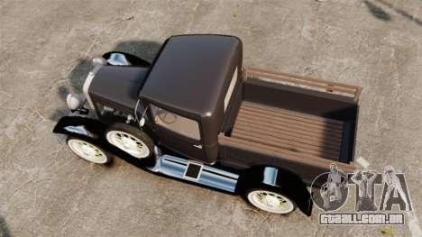 Ford Model T Truck 1927 para GTA 4 vista direita
