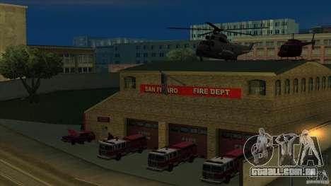 Estação de fogo de avivamento em San Fierro v 2. para GTA San Andreas