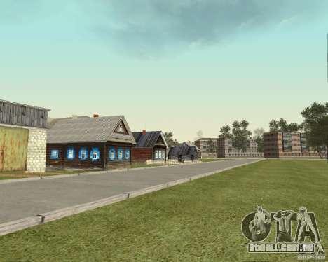 Novo campo de distrito dos sonhos para GTA San Andreas terceira tela