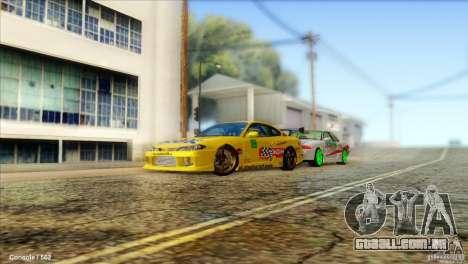 Nissan Silvia S15 NGK para GTA San Andreas esquerda vista