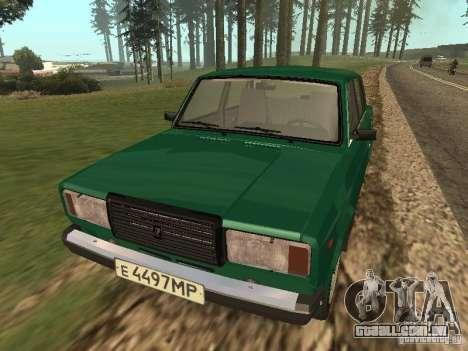 VAZ 2107 1988 para GTA San Andreas