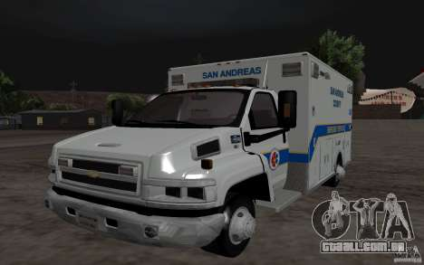 Chevrolet C4500 Ambulance para GTA San Andreas