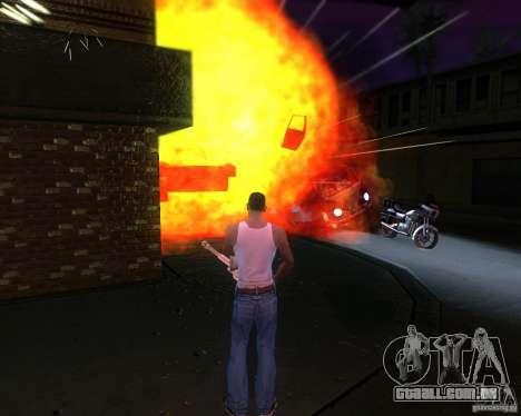 ENBSeries para médio- e de alta potência PC para GTA San Andreas por diante tela