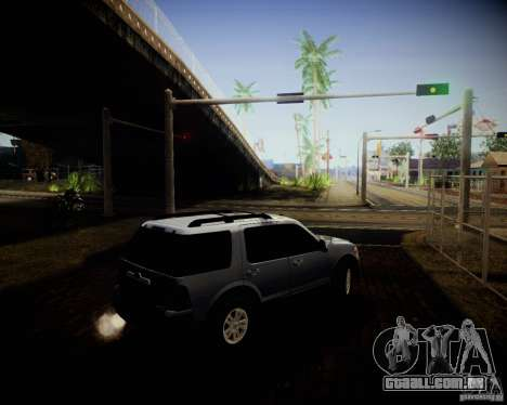 Ford Explorer para GTA San Andreas vista interior