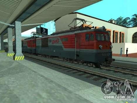 Vl10-1628 RZD para GTA San Andreas esquerda vista