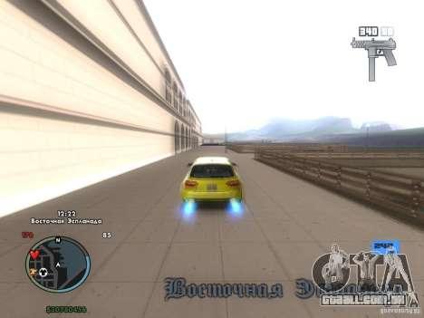 Velocímetro eletrônico para GTA San Andreas terceira tela