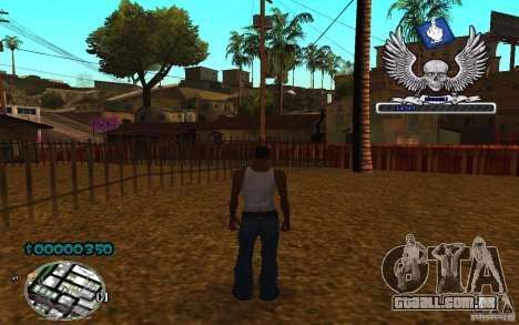 C-HUD awk William para GTA San Andreas terceira tela