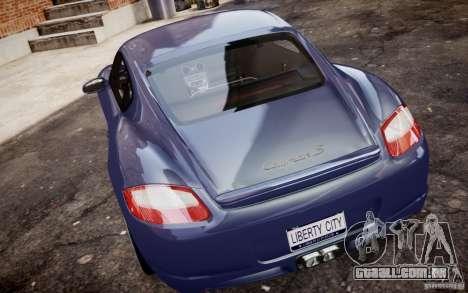 Porsche Cayman S 2006 EPM para GTA 4 vista direita