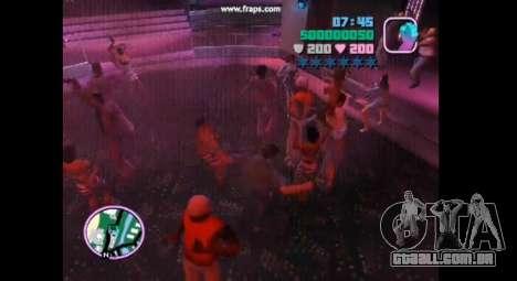 Dança mod para gta vice city para GTA Vice City quinto tela