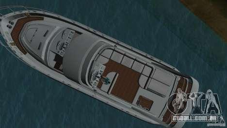 Barco para GTA Vice City vista traseira