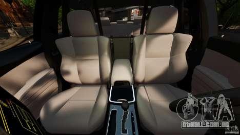 Dodge Charger RT Max FBI 2011 [ELS] para GTA 4 vista interior