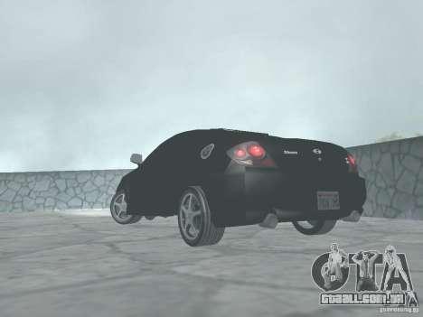Hyundai Tiburon GT para GTA San Andreas esquerda vista