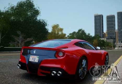 Ferrari F12 Berlinetta 2013 para GTA 4 esquerda vista