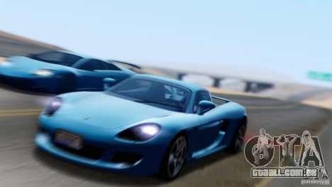 SA Beautiful Realistic Graphics 1.6 para GTA San Andreas nono tela