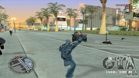 HUD ultra moderno para GTA San Andreas quinto tela
