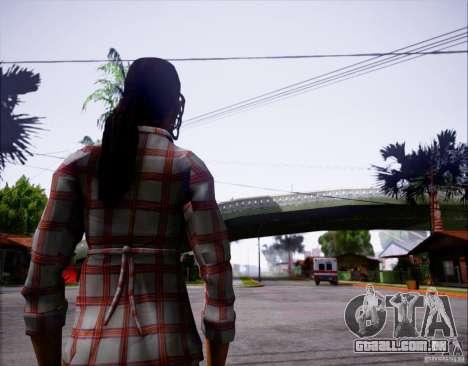 Serena Valdivia para GTA San Andreas segunda tela