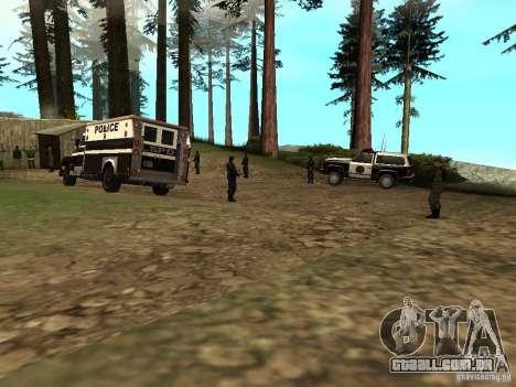 Drug Assurance para GTA San Andreas segunda tela