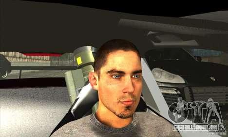 Jack Rourke para GTA San Andreas quinto tela
