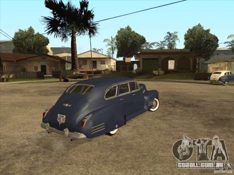 Cadillac 61 1941 para GTA San Andreas esquerda vista