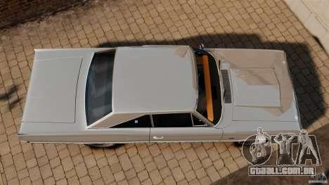 Dodge Coronet 1967 para GTA 4 vista direita