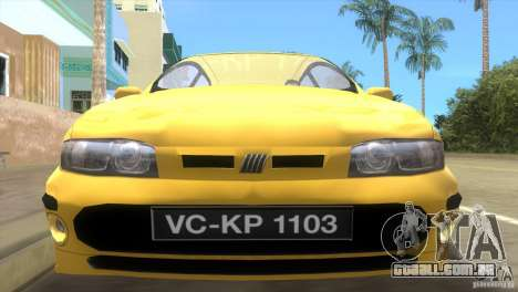 Fiat Bravo para GTA Vice City vista direita