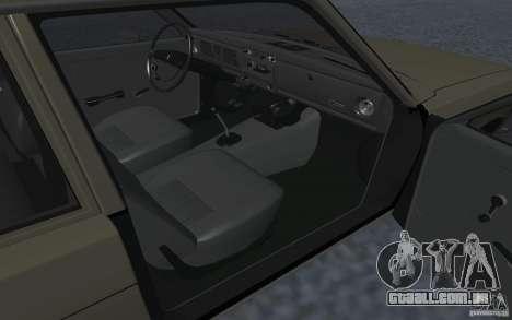 Datsun 510 para GTA San Andreas traseira esquerda vista