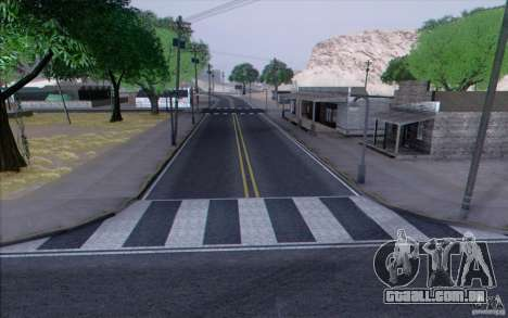 Estrada de HD v 3.0 para GTA San Andreas oitavo tela
